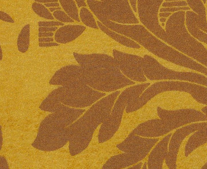 METALLIC DAMASK BRONZE ON GOLD 1132 SEMI-ANILINE