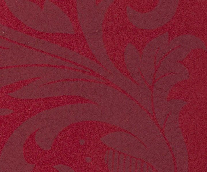 NUBUCK DAMASK RED ON RED 1028